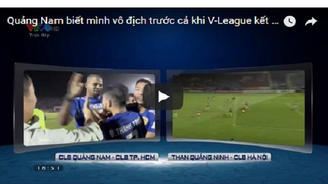 Thực hư chuyện BTC trao Cúp vô địch cho Quảng Nam trước khi V-League kết thúc?