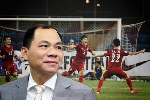 Với khối tài sản giàu hơn cả tổng thống Donal Trump, tỷ phú Phạm Nhật Vượng bất ngờ đầu tư tất tay cho học viện bóng đá PVF