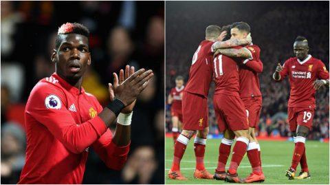 """ĐH tiêu biểu vòng 12 Ngoại hạng Anh: M.U bất ngờ sạch bóng; Tôn vinh """"Lữ đoàn đỏ"""" Liverpool"""