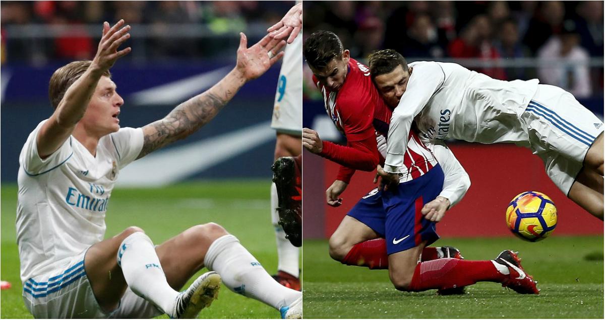 Real tiếp tục bị từ chối 3 quả Penalty ở trận derby Madrid: Đang có một âm mưu chống lại Kền kền trắng?