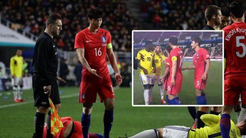 Giễu cợt các cầu thủ Hàn Quốc, sao Colombia đối mặt án phạt nặng từ FIFA