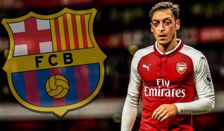 """SỐC: Ozil đạt thỏa thuận gia nhập Barca ngay trong mùa Đông này, hưởng lương """"siêu khủng"""" thua mỗi Messi"""
