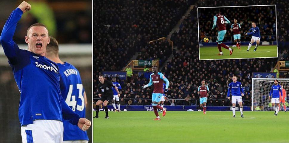 Rooney chói sáng với cú hat-trick, biến Joe Hart làm nền cho siêu phẩm 64m khiến triệu fan vỡ òa