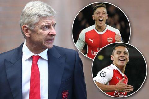 NÓNG: Đích thân Giáo sư Wenger XÁC NHẬN bộ đôi Sanchez và Ozil sẽ ra đi khiến fan Pháo thủ sôi máu