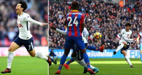 """""""Ronaldo xứ Hàn"""" lập tuyệt phẩm đi vào lịch sử Premier League, Tottenham phả hơi nóng vào gáy M.U"""