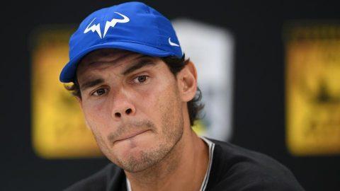 Rafael Nadal bất ngờ bỏ cuộc trước thềm tứ kết Paris Masters