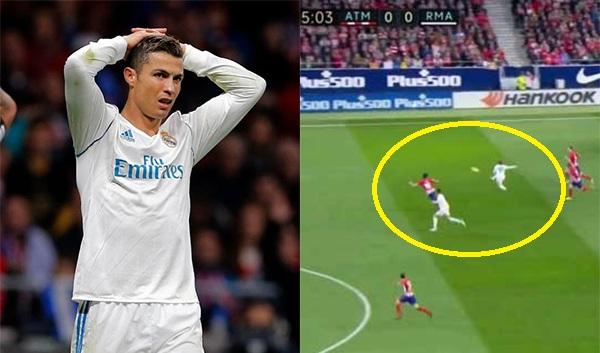 Đây là tình huống khiến các Madridista đau đớn nhận ra, Ronaldo đã thật sự hết thời?