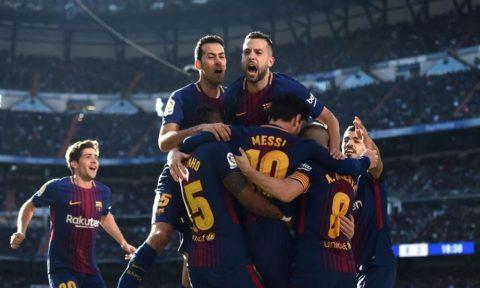 ĐH tiêu biểu lượt đi La Liga mùa giải 2017/18: Barca thống trị tuyệt đối, người Real mất hút