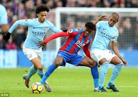 Kết quả Crystal Palace vs Man City: Cú SỐC tại Selhurst Park