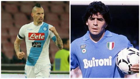Hamsik xô đổ kỷ lục của huyền thoại Maradona, Napoli cho Juventus 'ngửi khói', xây chắc ngôi đầu Serie A