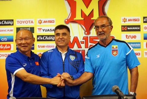 Bị Uzbekistan cầm hòa 'muối mặt', HLV Myanmar bất ngờ quay sang khen U23 Việt Nam