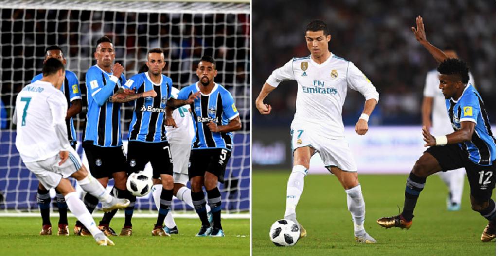 """""""Xé lưới"""" Gremio, Ronaldo đi vào lịch sử, san bằng kỷ lục với huyền thoại Pele"""