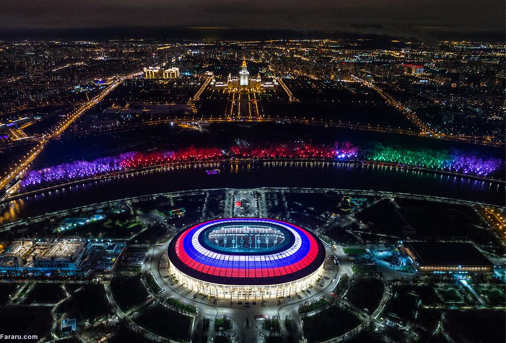 CHÙM ẢNH: Vẻ hùng vĩ, đẹp 'khó cưỡng' của 12 SVĐ tổ chức World Cup 2018