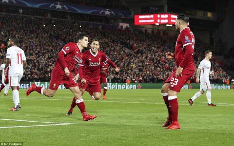 Coutinho lập hat-trick, Mane vẽ siêu phẩm, Liverpool hủy diệt đối thủ với tỉ số kinh hoàng