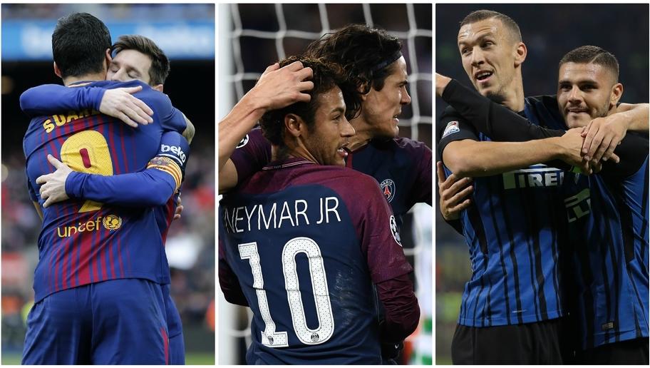 Những cặp song sát nổ súng nhiều nhất châu Âu từ đầu mùa: Messi thua kém đàn em