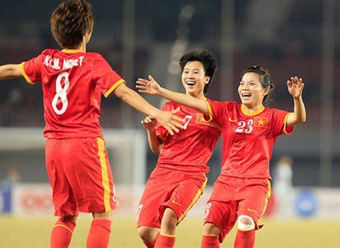 Cùng bảng Nhật Bản, Hàn Quốc, nữ Việt Nam cạn hy vọng dự World Cup