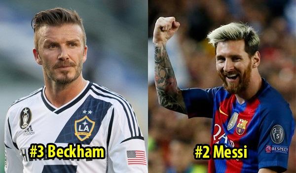 Top 8 siêu sao có lượng Fan khủng nhất thế giới: Messi trên vạn người nhưng xếp sau 1 người