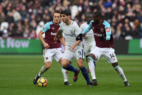 Thua sốc đội bóng của David Moyes trong trận derby London, Chelsea lỡ cơ hội bắt kịp MU