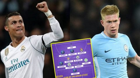 ĐH xuất sắc nhất vòng bảng Champions League: Ai dám đối đầu với hàng công siêu khủng này?