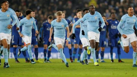 """5 điểm nhấn Man City 1-1 (4-3 penalty) Leicester: Vardy """"không tắm hai lần trên một dòng sông"""""""