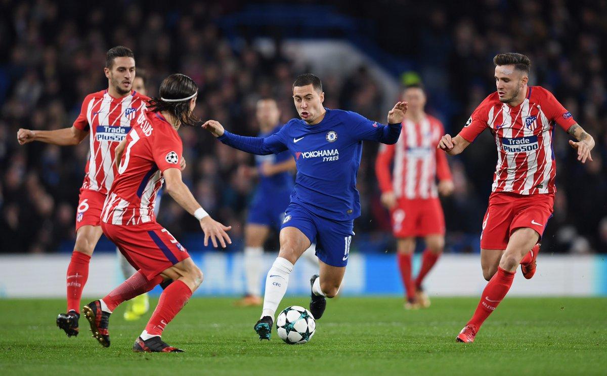 Chia điểm thất vọng trước Atletico, Chelsea mất luôn ngôi đầu bảng vào tay Roma