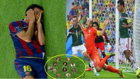 Người Barca thống lĩnh đội hình 11 siêu sao ăn vạ tai tiếng nhất mọi thời đại