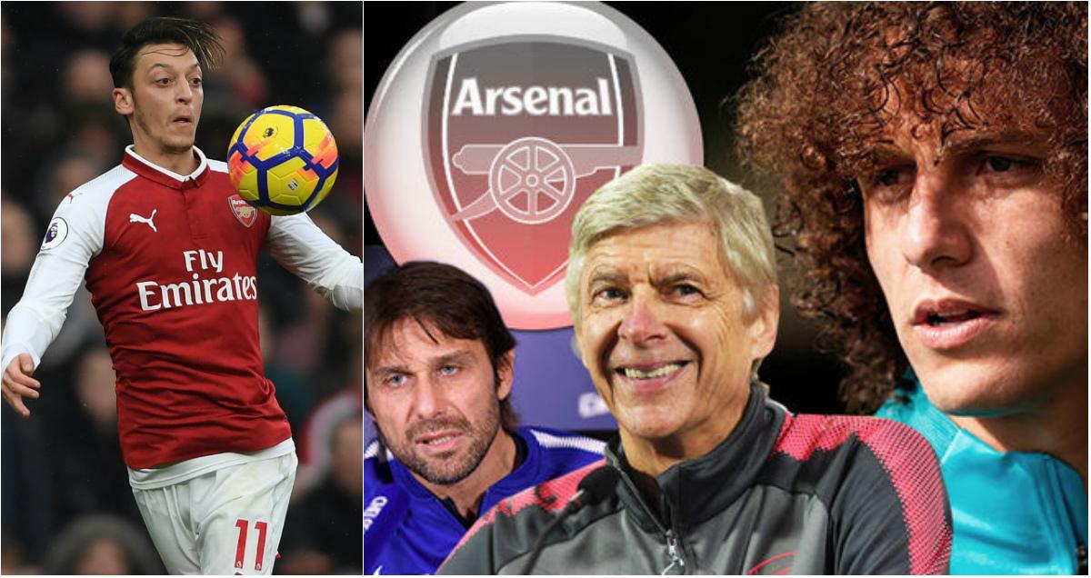 CHUYỂN NHƯỢNG ngày 19/12: MU tiến một bước lớn trong cuộc đua giành Ozil; Arsenal chơi trội vì Luiz