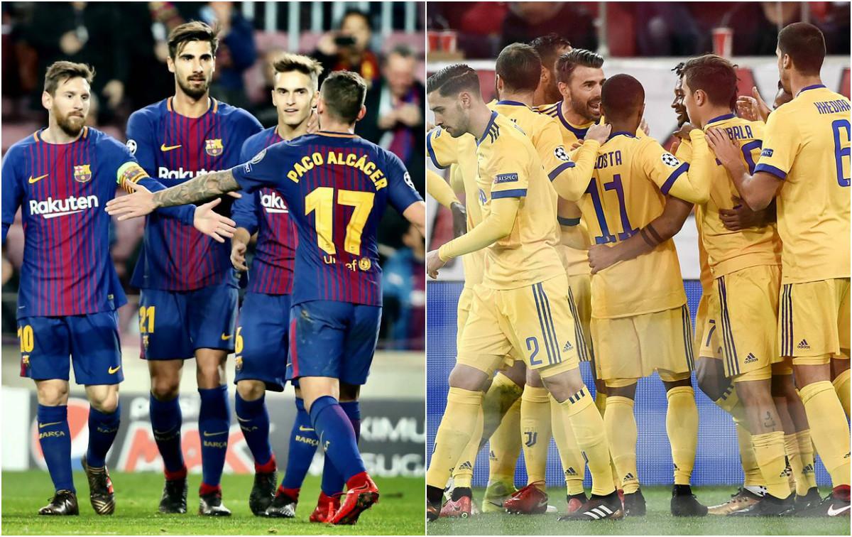 Giành thắng lợi nhẹ nhàng, Barca và Juventus cùng nhau bước vào vòng knock-out