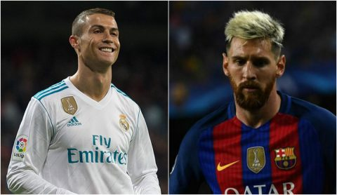 Đội hình tiêu biểu vòng bảng Champions League: Ronaldo lại đánh bật Messi