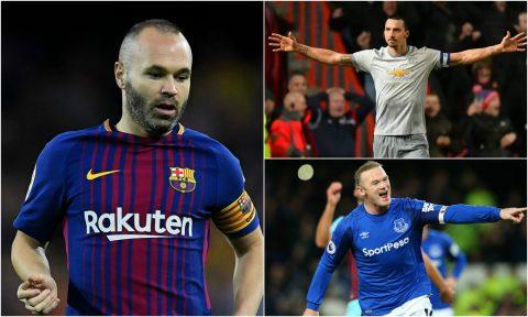 Ibrahimovic, Rooney và top 5 sao bự có thể bị MLS thâu tóm