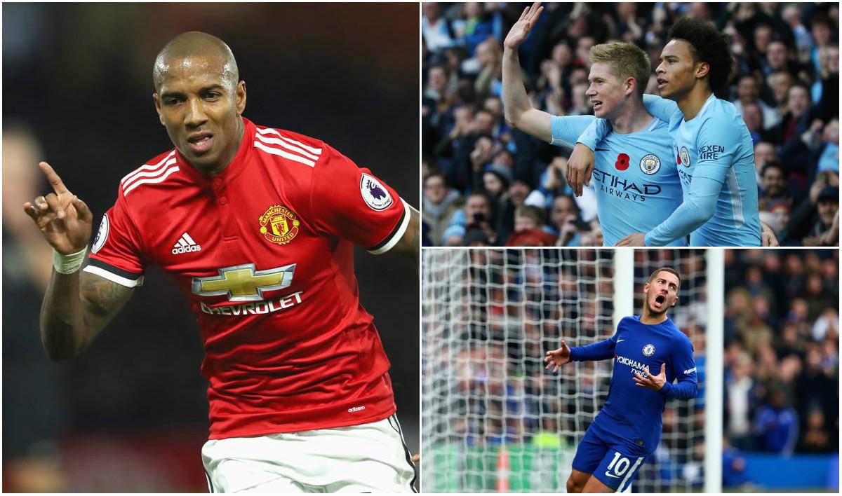 Cầu thủ hay nhất Premier League tháng 11: Young đại chiến Hazard, de Bruyne?