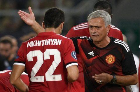 Mâu thuẫn bùng nổ, Mkhitaryan tranh cãi gay gắt với Mourinho, đếm ngày rời M.U
