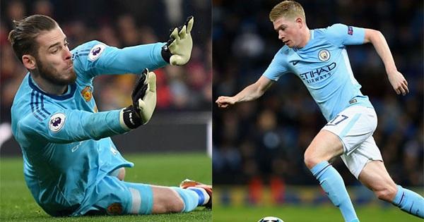 """Đội hình """"siêu khủng"""" kết hợp ở Derby thành Manchester: Xanh công, Đỏ thủ"""
