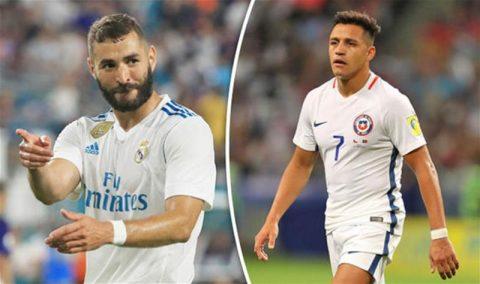 Real rao bán Benzema; Arsenal chắc chắn bán Sanchez ngay tháng giêng này