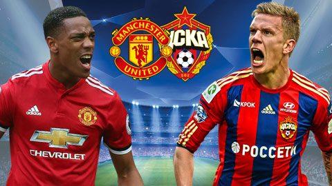 Man United vs CSKA Moscow, 02h45 ngày 6/12: Thắng nhẹ, giữ sức cho đại chiến