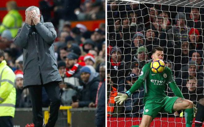Mourinho đã nói gì với thủ thành Ederson của Man City, để bị ném chai vào đầu?