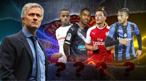 """Được """"thưởng Tết"""" cao nhất, Mourinho quyết mang về ngôi sao… số 7 cho M.U"""