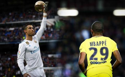 Từ cậu bé may mắn được Ronaldo xoa đầu, Mbappe đã sẵn sàng khiến thần tượng… sấp mặt