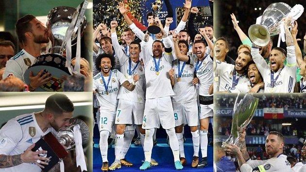 Choáng với số tiền thưởng mà các cầu thủ Real Madrid kiếm được trong năm 2017
