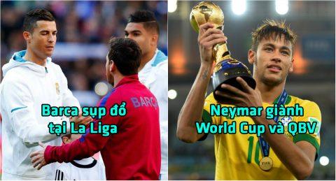 """10 tiên đoán thú vị về bóng đá thế giới trong năm 2018: Năm """"Vàng"""" của Neymar"""