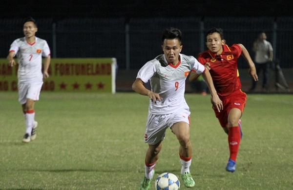 Quân bầu Đức tỏa sáng, U21 Việt Nam dễ dàng đánh bại đàn em U19