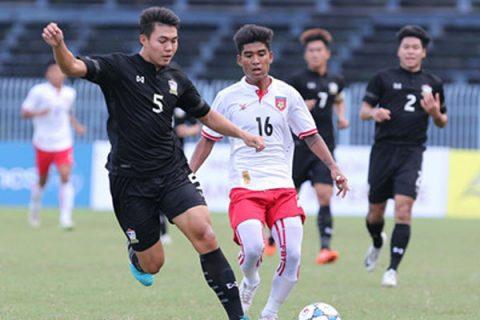 Kết quả U21 Thái Lan vs U21 Myanmar: Người Thái lại sấp mặt không tưởng
