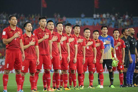 """Bảng xếp hạng FIFA tháng 12/2017: Bỏ xa Philippines và Thái Lan, Việt Nam làm """"Vua""""  ĐNÁ"""