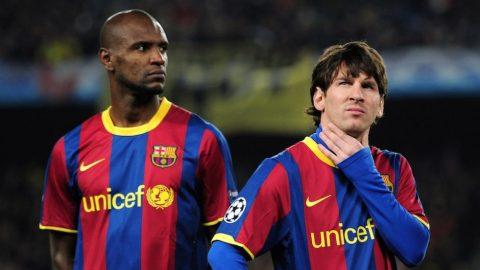 """Eric Abidal và """"vết sẹo tâm hồn"""" mang tên Messi"""