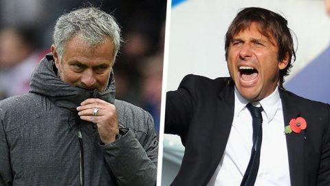 """Bị gọi là """"kẻ mất trí"""", Mourinho bất ngờ lật lại quá khứ đen tối của Conte"""