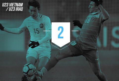 """8 con số cho thấy khoảng cách """"xa vời"""" giữa U23 Việt Nam và U23 Iraq"""