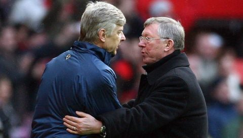 Sir Alex Ferguson nói gì khi bị Arsene Wenger phá kỉ lục của chính mình tại Premier League?