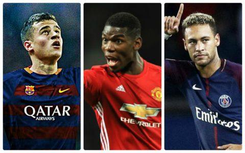 Siêu đội hình 11 ngôi sao đắt giá nhất làng túc cầu: Coutinho, Neymar vô địch thiên hạ
