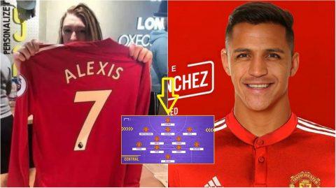 CẬN CẢNH đội hình đủ sức vô địch Champions League của M.U sau khi bổ sung 'bom tấn' Sanchez