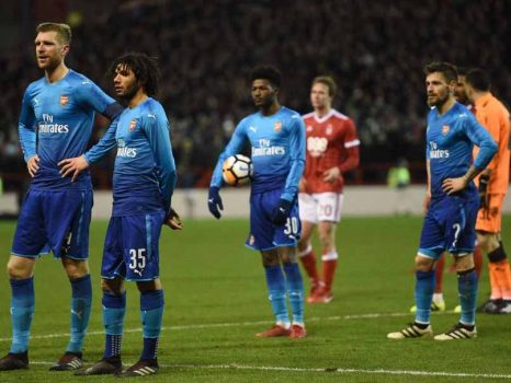 Nhận 4 bàn thua trước đội hạng dưới, Arsenal chính thức trở thành cựu vương FA Cup